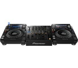 Pack Pioneer : 2 x XDJ-1000 MK2 + DJM-850-K