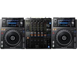 Pack Pioneer :  2 x XDJ-1000 MK2 + DJM-900 NXS2