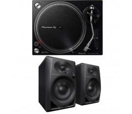 PIONEER DJ PACK DM-40 + PLX-500 x2