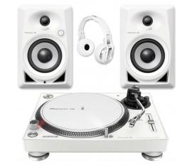 PIONEER DJ PACK DM-40 + PLX-500 + HDJ-700 WHITE