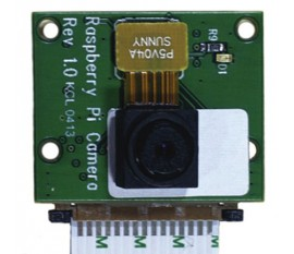 High definition video camera for raspberry PI model 2B, B+