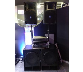 KIT SON PASSIF RCF 2X1400W  OCCASION