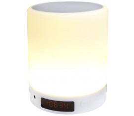 Smart touch lamp speaker