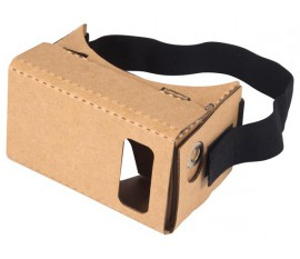 "3D VIRTUAL REALITY VIEWER POUR SMARTPHONE -  DIMENSIONS MAX. 7.5 x env. 15 cm (2.95 x env. 5.73"")"