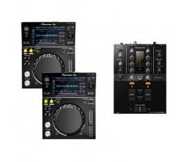 Pack PIONEER 2 X XDJ-700 + DJM-250MK2 Noir