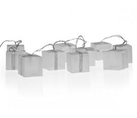GUIRLANDE HOLOGRAPHIQUE AVEC CUBES LEDs