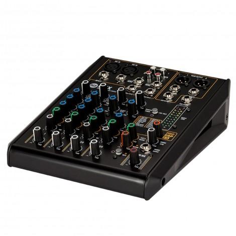 Console de mixage 6 canaux avec multi-effets