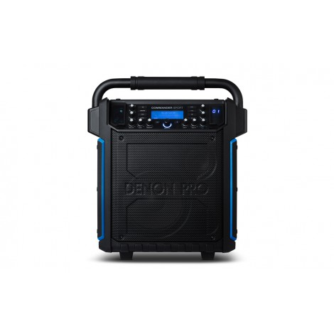 Haut parleur autonome portable Commander Sport Denon Pro