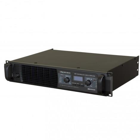 Amplificateur de puissance professionnel à découpage, contrôlé par DSP. 2X440Wrms