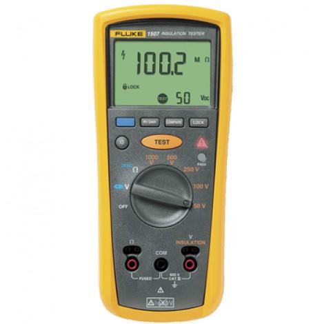 Testeur d'isolation 10 GOhm 50 VDC/100 VDC/250 VDC/500 VDC/1000 VDC 600 VAC