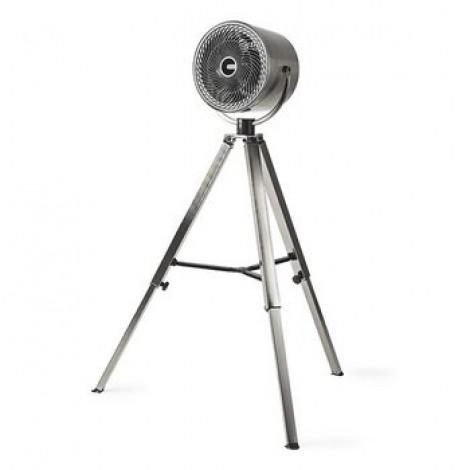 Ventilateur avec Trépied | 25 cm de Diamètre | 3 Vitesses | Métal Brossé