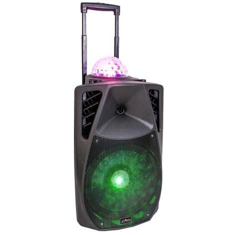 PARTY-15 ASTRO Enceinte animée portable 15¨/38CM - 800W avec usb, bluetooth, fm, et micro vhf
