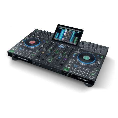 """Denon DJ Prime 4, Système DJ Autonome avec Écran Tactile 10"""""""