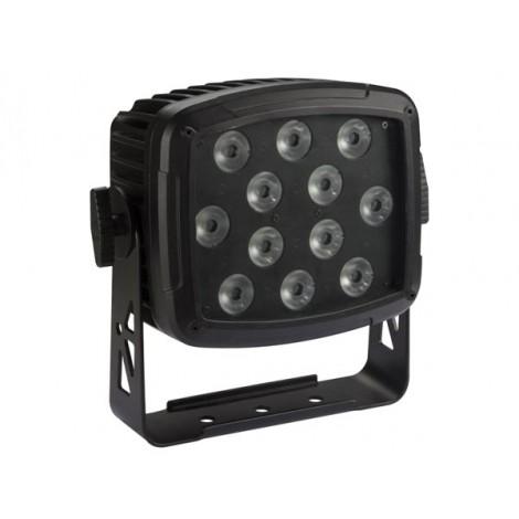 PROJECTEUR LED D'EXTÉRIEUR - 12 x 12 W RGBW-UV LED