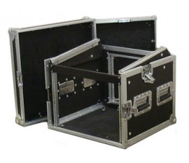 Flight Case Pro Rack L 8U
