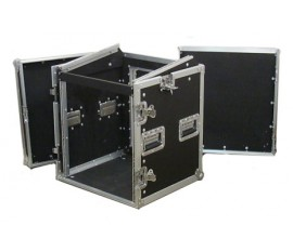 Flight Case Pro Rack L 12U