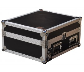 Flight Case Pro Rack L 4U/9U +laptop stand