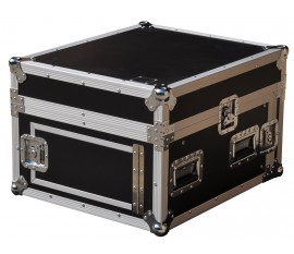 Flight Case Pro Rack L 4U/11U +laptop stand