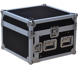 Flight Case Pro Rack L 6U/9U +laptop stand