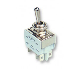 Interrupteurs industriels à levier métallique ou isolé-intensité élevée bi-polaire ON/OFF/ON