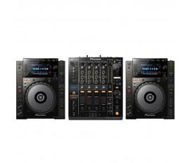 Pack Pioneer : 2 x CDJ-900NXS + DJM-900NXS2