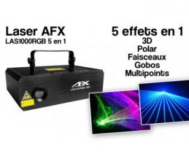 Laser Multicolore AFX Light - LAS 1000RGB 5 in 1