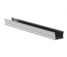 SLIMLINE WIDE - 15 mm - PROFILÉ EN ALUMINIUM POUR RUBAN LED - ALUMINIUM ANODISÉ - ARGENT - 2 m