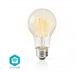Nedis Ampoule LED Intelligente Wi-Fi | Filament | E27 | Blanche | A60