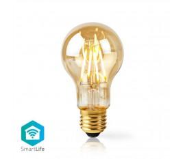Nedis Ampoule à Filament LED Intelligente Wi-Fi   E27   A60   5 W   500 lm