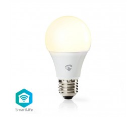 Nedis Ampoule LED Intelligente Wi-Fi | Blanc Chaud | E27
