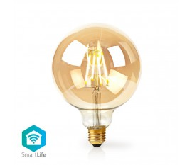 Nedis Ampoule à Filament LED Intelligente Wi-Fi | E27 | 125 mm | 5 W | 500 lm