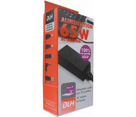 DLH DYAI1954 Alimentation secteur pour ordinateur portable 65 W 19V 3,42A 100% compatible ASUS