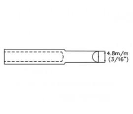 """PANNE DE FER À SOUDER - FORME DE BURIN - 4.8 mm (3/16"""")"""