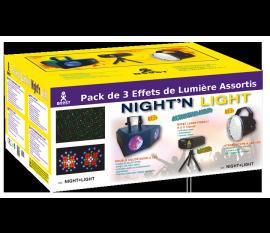 LED + LASER EFFECTS HOME LIGHTING PACK (NIGHT+LIGHT) BOOST PACK NL