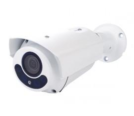 CAMÉRA HD CCTV - HD-TVI - EXTÉRIEUR - CYLINDRIQUE - IR - LENTILLE VARIFOCALE MOTORISÉE - 1080P - BLANC