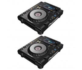 Pack Pioneer : 2 x CDJ-900 NXS
