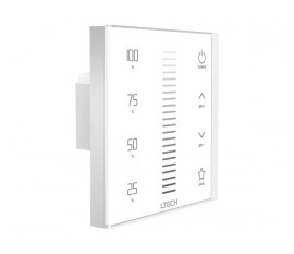 VARIATEUR LED TACTILE - 1 CANAL - DMX/RF