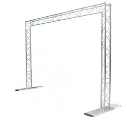 PORTIQUE DE LUMIERE ALU DJTRUSS