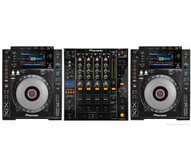 Pack Pioneer : 2 x CDJ-900 NXS + DJM-850-K
