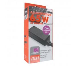 DLH DYAI1950 Alimentation secteur pour ordinateur portable 65 W 19V 3,42A 100% compatible DELL