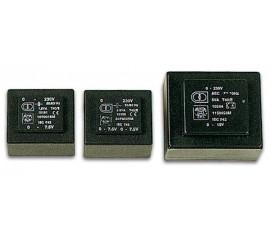 TRANSFORMATEUR MOULE  1.2VA  2 x 15V / 2 x 0.040A