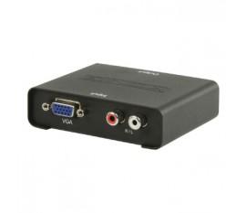 Convertisseur VGA Femelle + 2x RCA Femelle - Sortie HDMI femelle