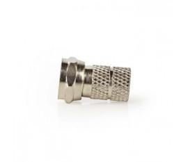 Connecteur F | Homme - Pour Câbles de 7,00 mm | 5 pièces | Métal