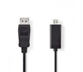 Câble DisplayPort vers HDMI™   DisplayPort Mâle - Connecteur HDMI™   3,0 m   Noir