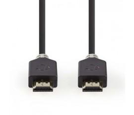 Câble HDMI™ Haute Vitesse avec Ethernet   Connecteur HDMI™ - Connecteur HDMI™   7,5 m   Anthracite