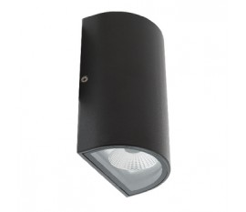 Applique LED Murale 11 W 490 lm Noir