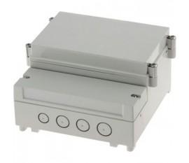 Rail DIN boîtier PCB 161 x 166 x 93 mm ABS