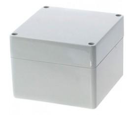 Boîtier plastique 120 x 120 x 90 mm gris clair PC IP 65