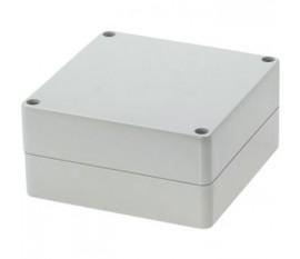 Boîtier plastique 120 x 120 x 60 mm gris clair PC IP 65