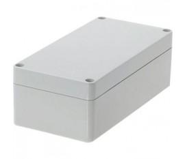 Boîtier plastique 80 x 160 x 55 mm gris clair PC IP 65